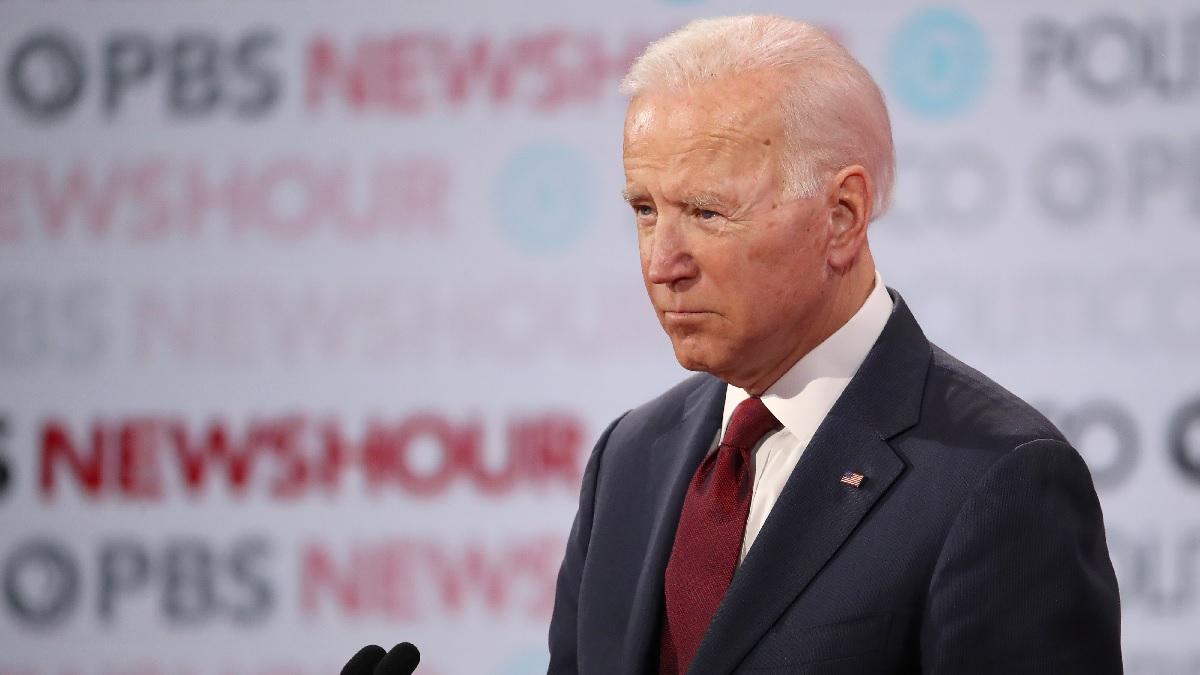 前美國副總統、2020年民主黨總統候選人喬·拜登(Joe Biden)。(Justin Sullivan/Getty Images)