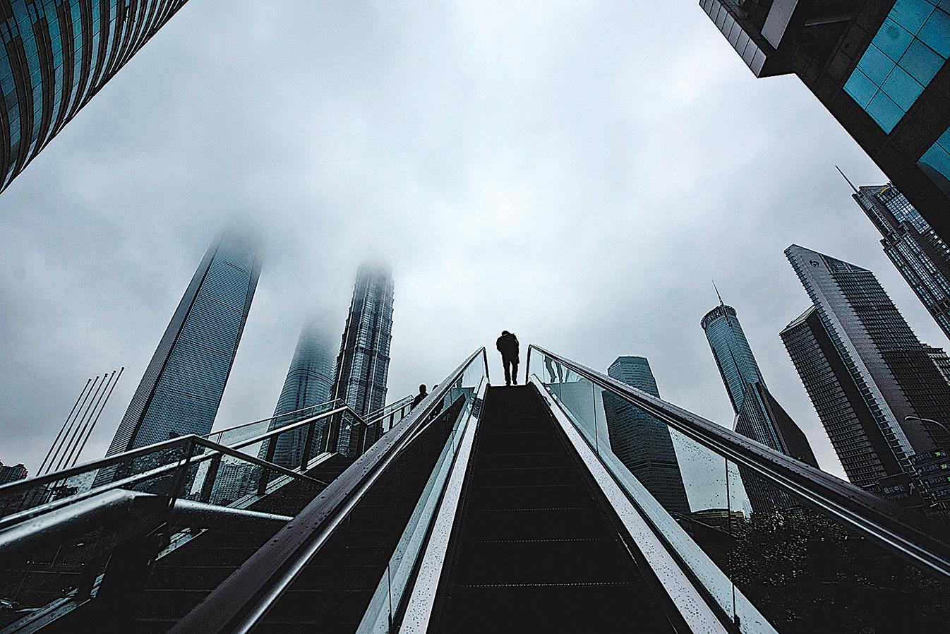 上海浦東新區金融區。(Getty Images)