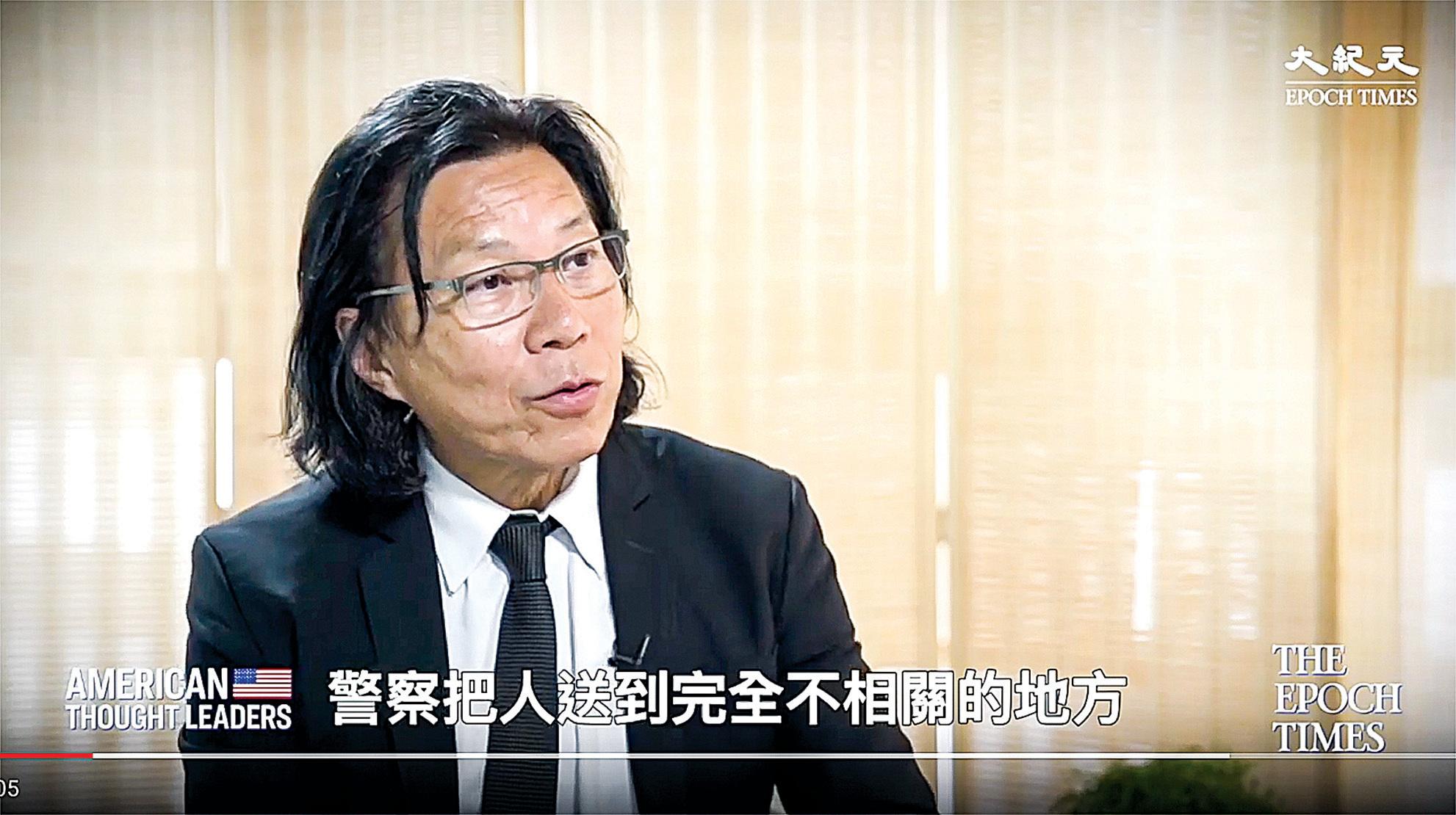 候任區議員、香港大律師黃國桐先生。(影片截圖)