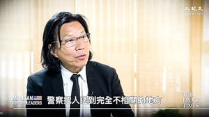 黃國桐:港警阻律師見被捕者