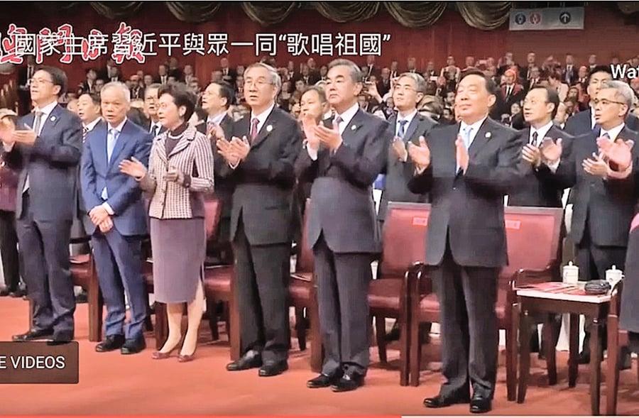 林鄭月娥丈夫「無聲抗議」的背後