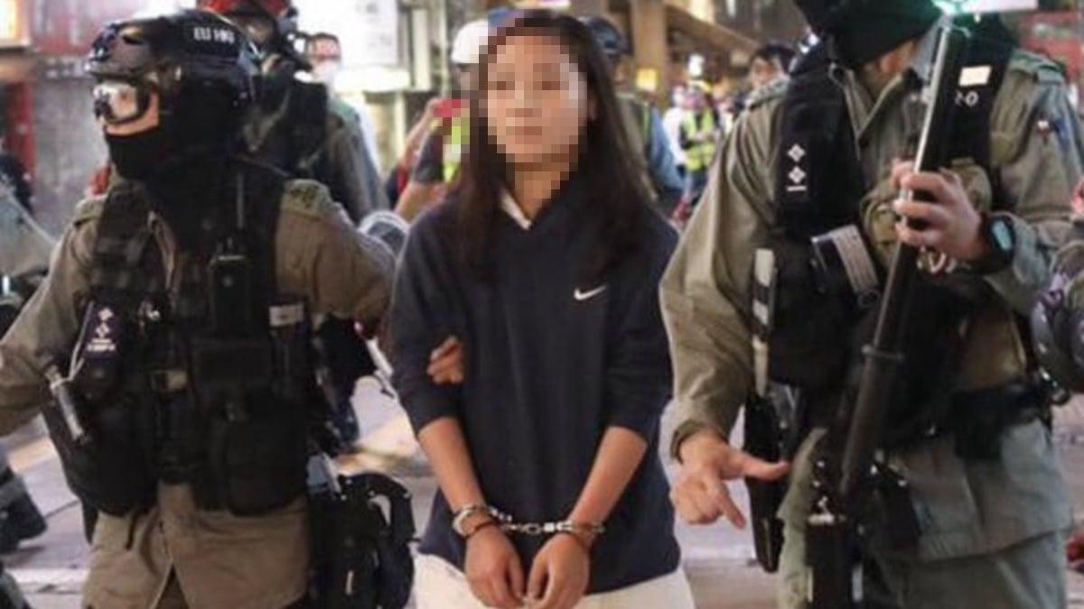 14歲的士多啤梨矢言願以個人犧牲換取香港自由。示意圖(臉書圖片)