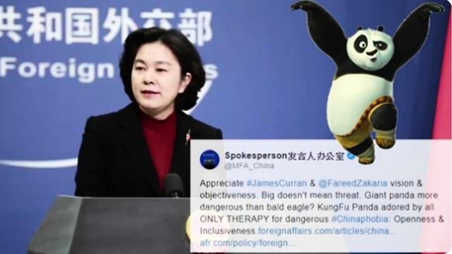 中共外交部學特朗普發推特 慘遭網友炮轟