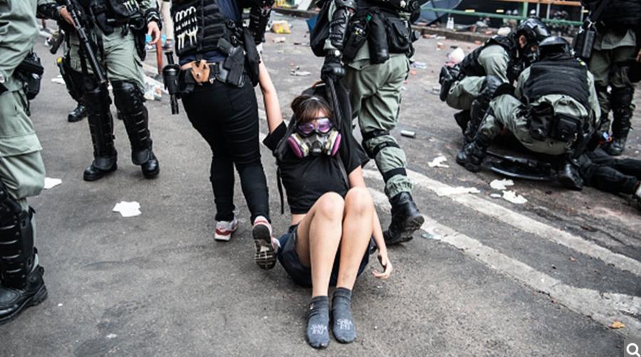 平安夜至27號晨336名抗爭者被捕 最小12歲