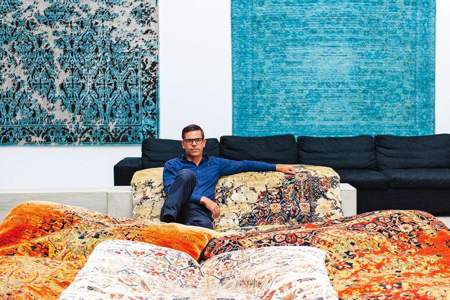 挽救地毯的人 專訪最傳奇的地毯設計師Jan Kath