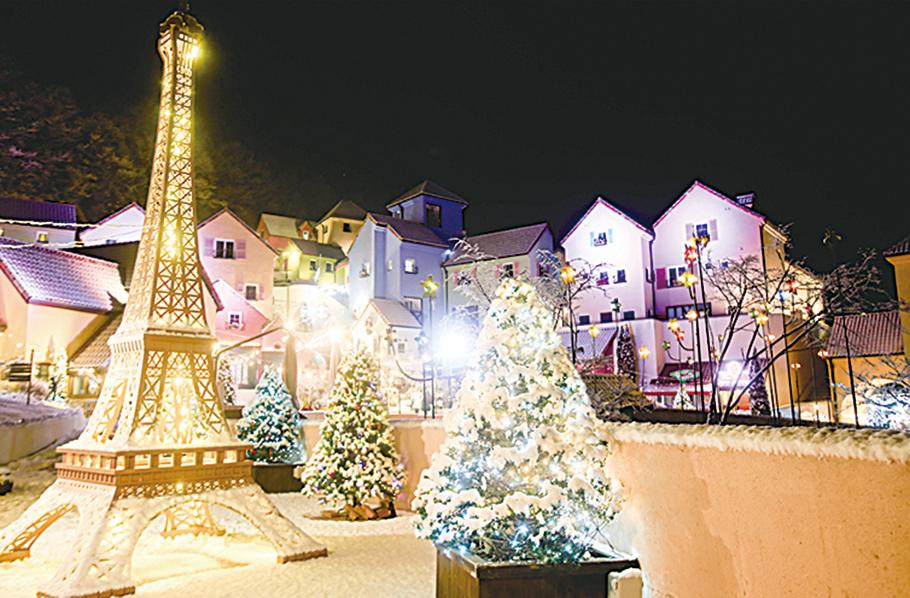 歡慶浪漫的跨年夜 首爾近郊的繽紛燈節