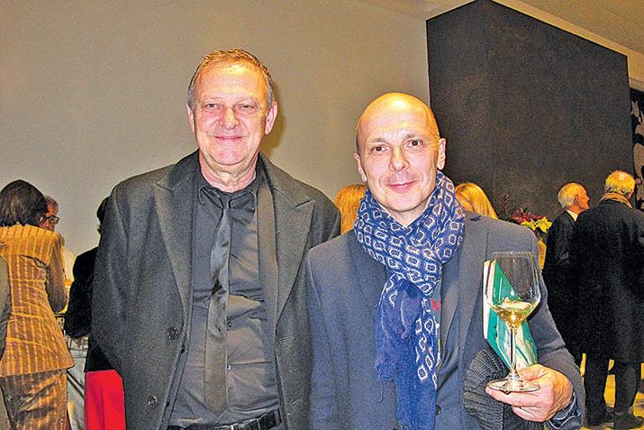 右:舞蹈國際評委Davide Bombana(麥蕾/大紀元)