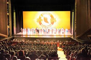 神韻歐洲巡演啟幕首場意大利貴族雲集