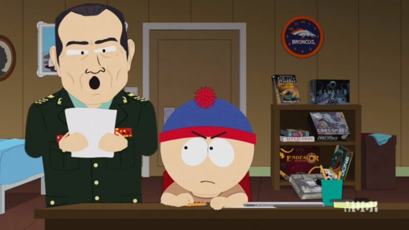 美國著名黑色幽默卡通South Park被中共政府封殺後,發表「道歉聲明」,暗諷中共活摘器官。(影片截圖)