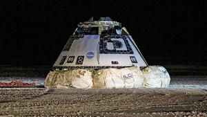 波音星際飛船軟件出錯 提前返回降落美國沙漠