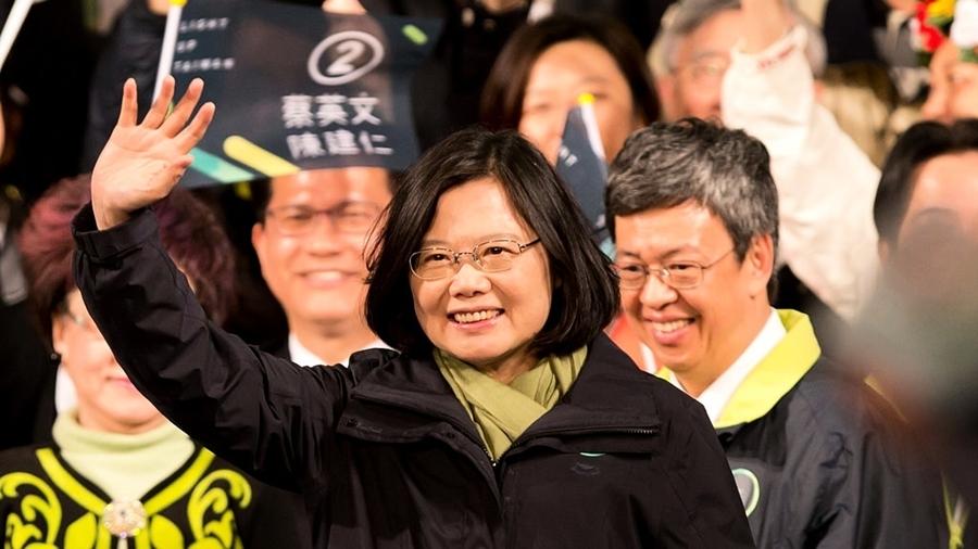 台學聯模擬投票:蔡英文狂掃85% 韓國瑜4.7%