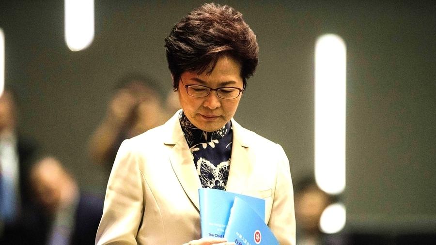 港人票選「年度可恥人物」 林鄭月娥奪冠