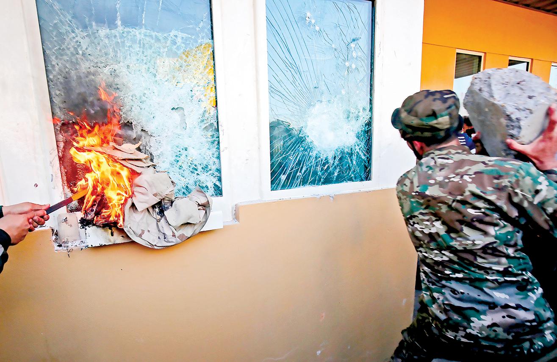 美國駐伊拉克使館遭遇襲擊(Getty Images)