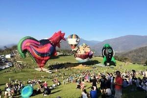 台東熱氣球重新開園 7球同登場