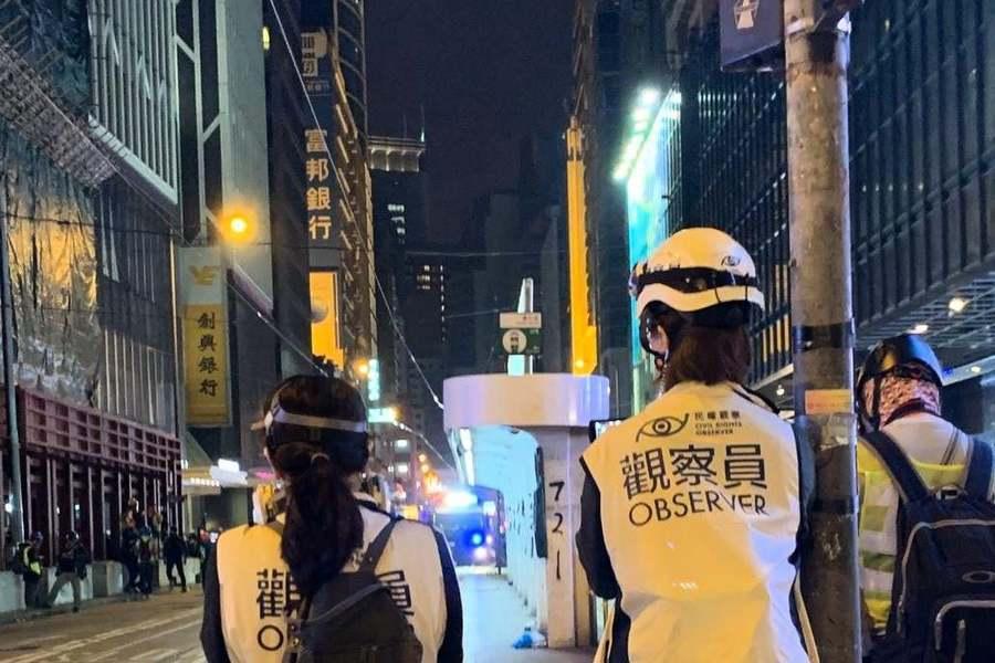 3觀察員獲釋侯查 民權觀察譴警方檢走物品促歸還