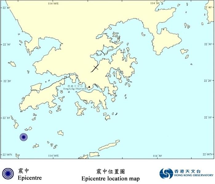珠海發生3.5級地震 香港多區市民被震醒