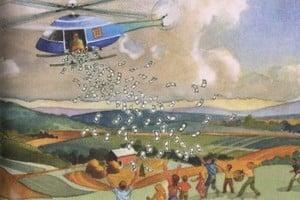 【財經話題】如果日本央行「直升機撒錢」