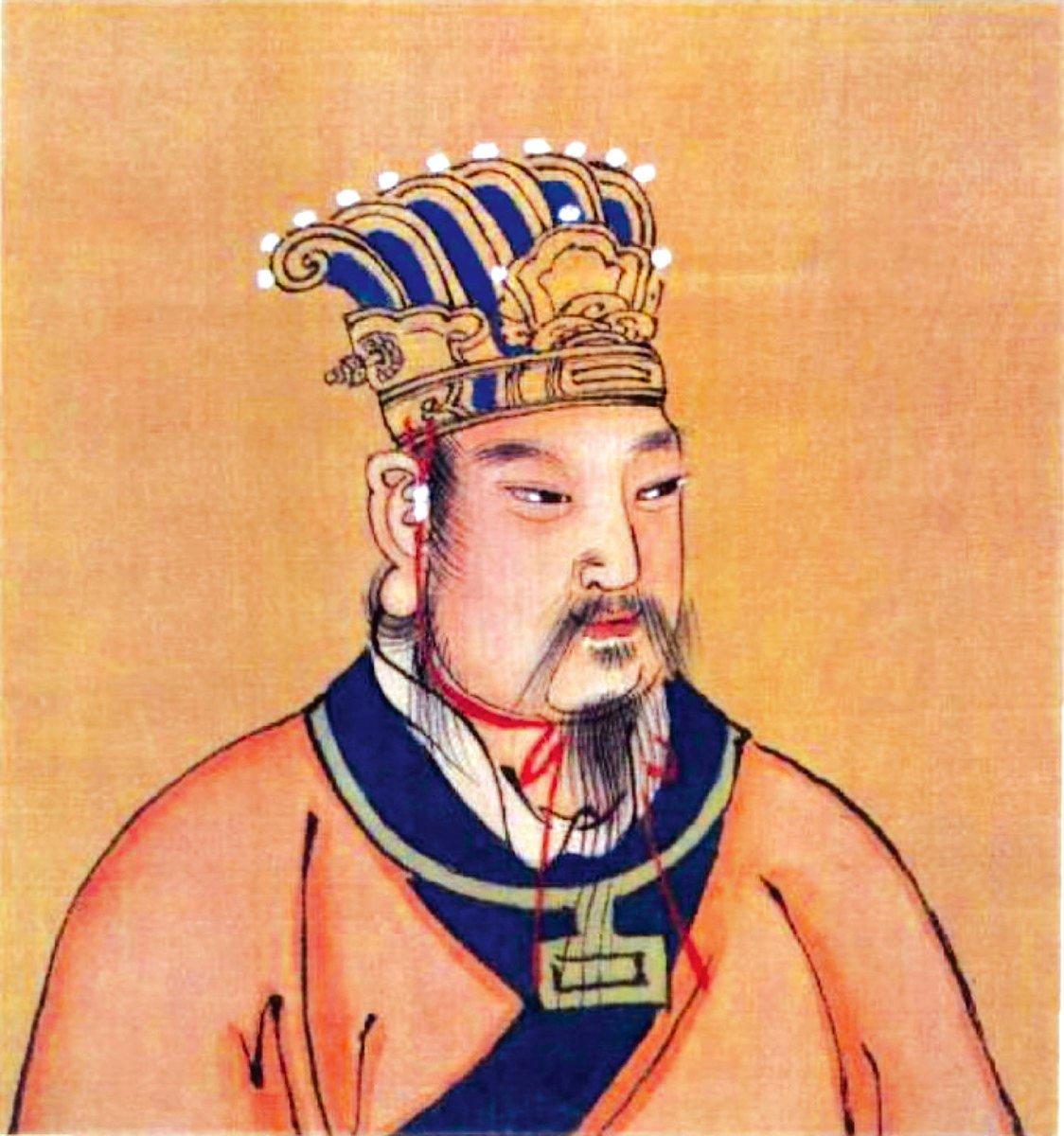 周朝,是一個君子輩出的時代,如周文王、周武王等。圖為周文王畫像,明人繪。(公有領域)