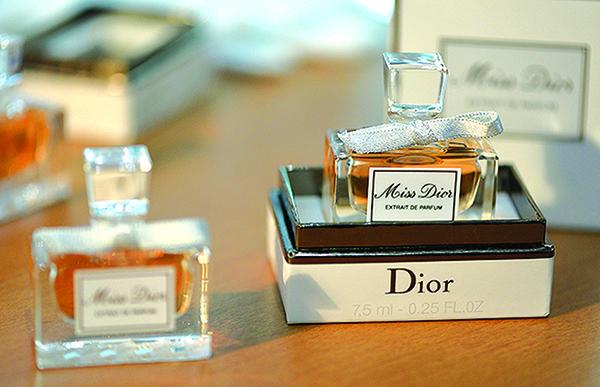 迪奧香水。(Getty Images)