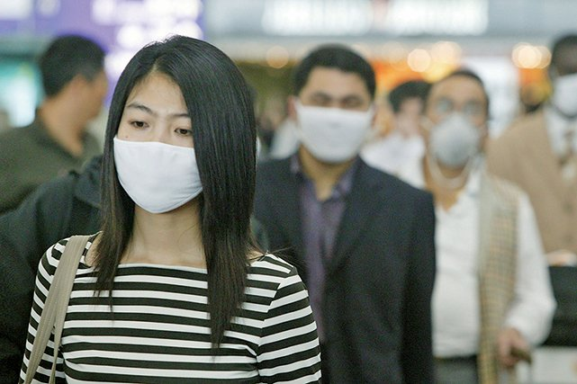 武漢爆發不明原因病毒性肺炎,並已擴散到香港、新加坡等地。(Getty Images)