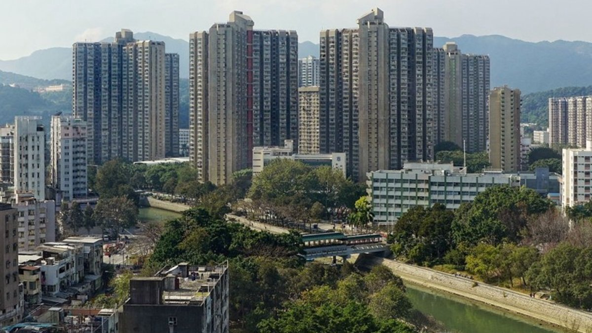 13歲少女墜樓死亡的新界大埔太和屯公屋。(維基百科/Tai Wo Estate)