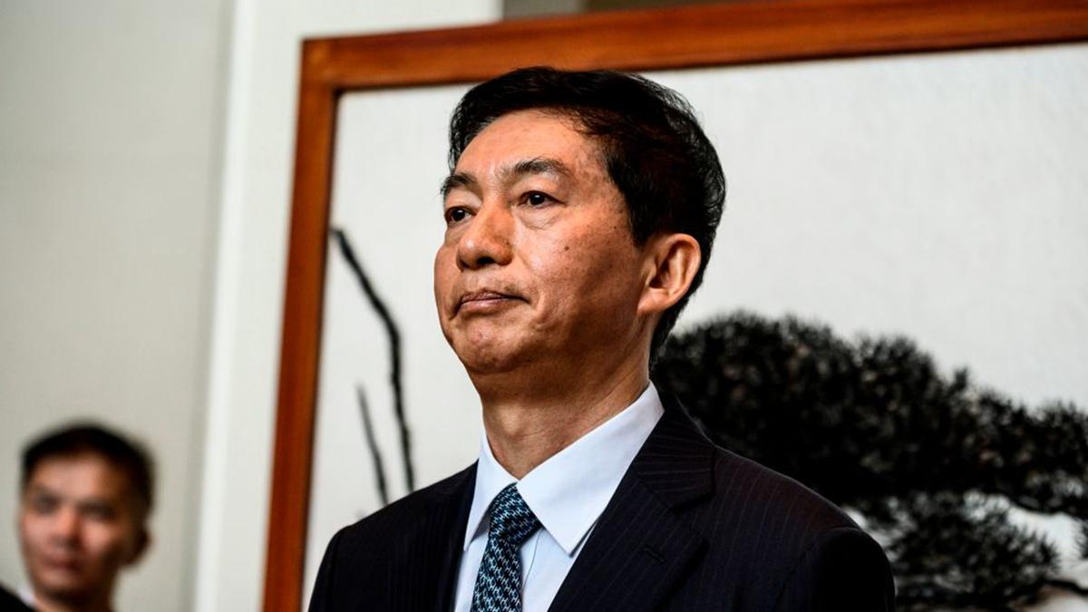新任中聯辦主任駱惠寧1月6日正式走馬上任,他在香港危機深重的時刻「緊急空降」中聯辦,被認為是在非常時期換非常之人。(STR/AFP via Getty Images)