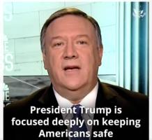 蓬佩奧:擊斃蘇萊曼尼亞讓世界更安全 伊朗若報復將付出更高代價