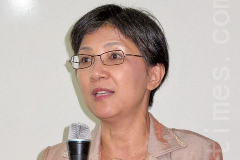 台灣法輪大法學會理事長張錦華教授教育專家:《轉法輪》法理真實不虛。(大紀元)