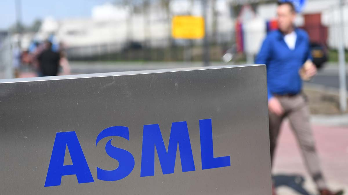 荷蘭阿斯麥(ASML)是全世界光刻技術的領軍企業。(EMMANUEL DUNAND/AFP via Getty Images)