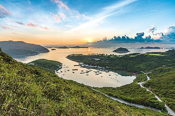 薛濤住居浣花溪水濱(示意圖)(pixabay)