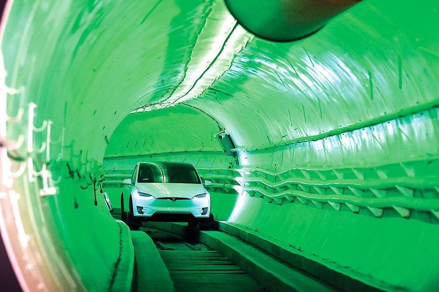 鑽洞公司首個隧道將在拉斯維加斯 馬斯克:明年可望全面啟用