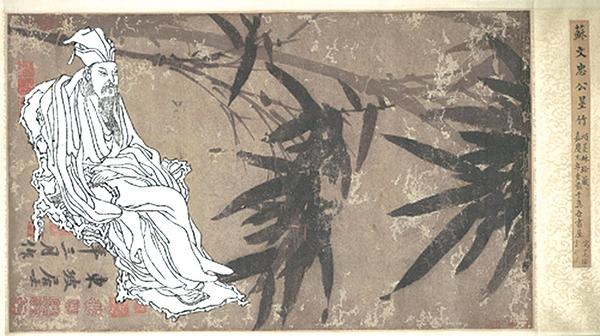 多才的人往往也是多情的情種,例如蘇軾就寫了一首傳唱千古的悼亡詩--《江城子・乙卯正月二十日夜記夢》(看中國合成圖)