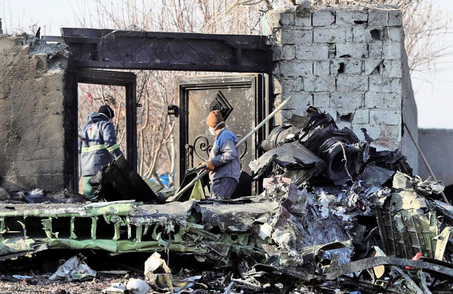 伊朗拒交烏航墜機黑匣子