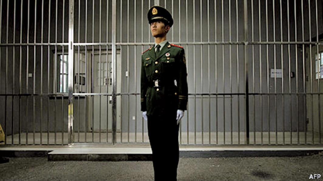 秦城監獄。(AFP)