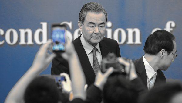 中共外交部長王毅。(Lintao Zhang/Getty Images)