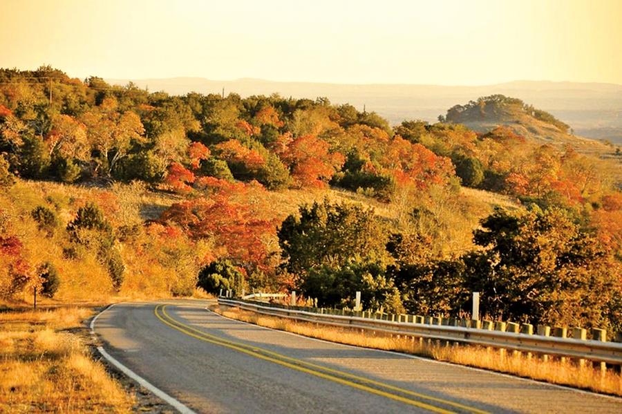 德州的「山丘之鄉」之一