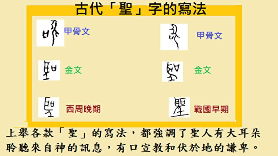 簡化漢字「聖」包藏甚麼禍心?