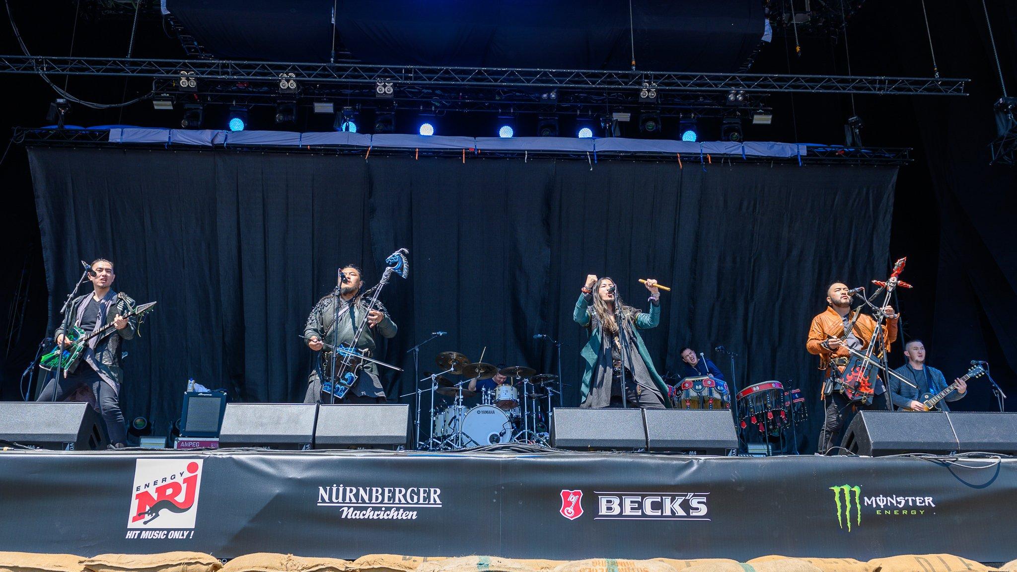 The Hu於2019年在Rock im Park進行了表演。(維基百科)