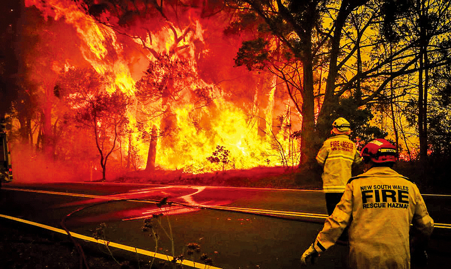 澳洲野火危機或可暫獲緩解