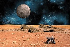 加州公司研發 用於月球開發的智能機械人