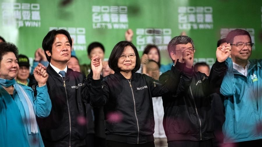 蔡英文得票比林鄭多一萬倍 助推港人反共潮