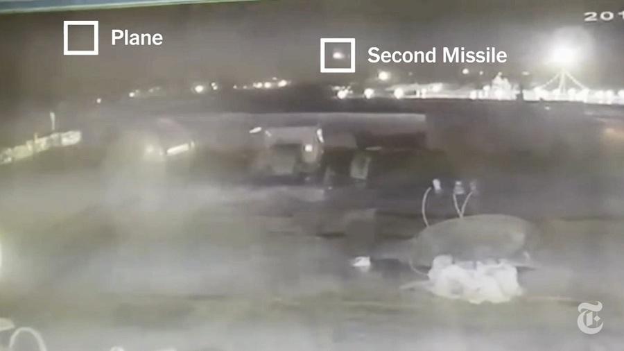 新影像曝光 烏克蘭客機30秒內遭2枚導彈攻擊