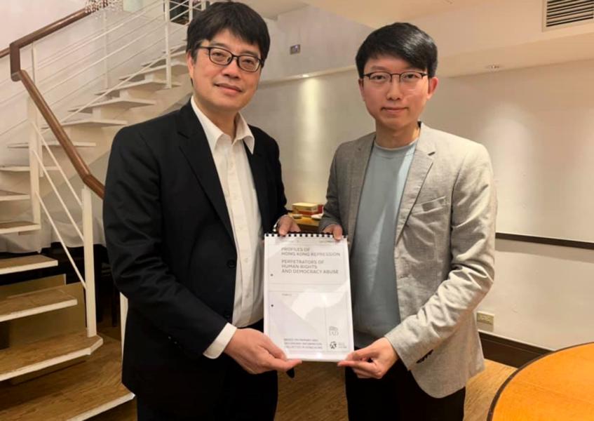台陸委會研設「香港惡棍」名單 或禁港警入境