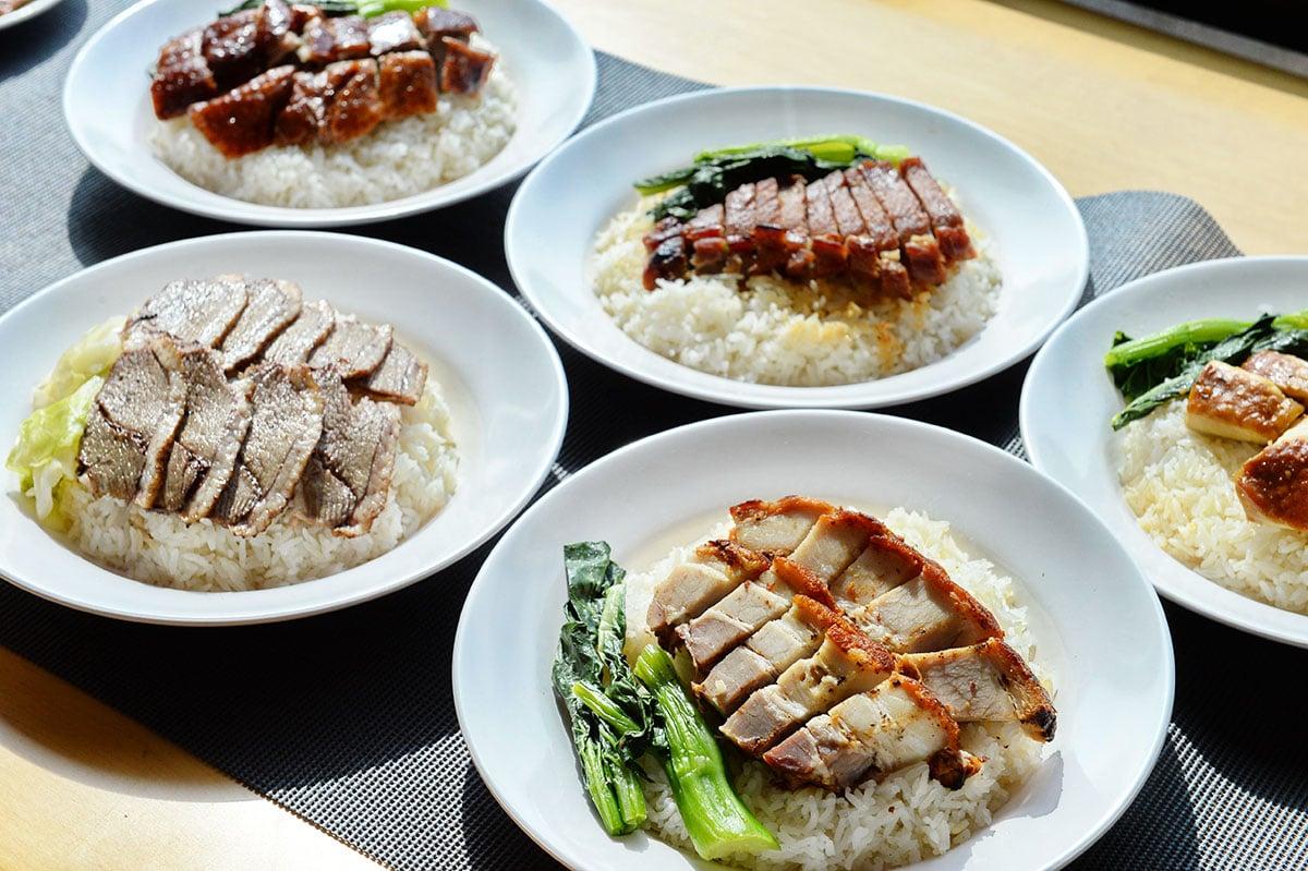 消委會測試發現,燒味中,紅腸的平均鈉含量最高,其次是燒肉及叉燒,食一盒燒肉飯恐已超出每日鈉攝取量近兩成。(宋碧龍/大紀元)