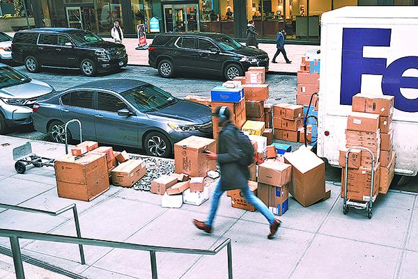 2019年12月20日,紐約一家 Bergdorf Goodman 店。(Getty Images)