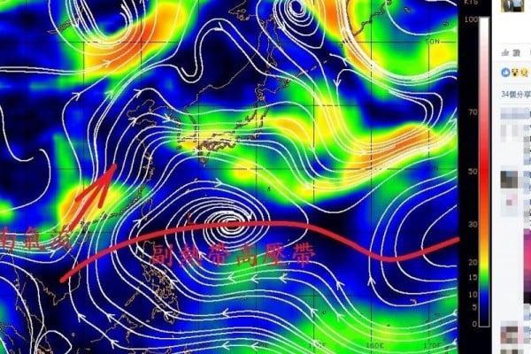 太平洋高壓異常 台專家:恐釀大陸嚴重災害