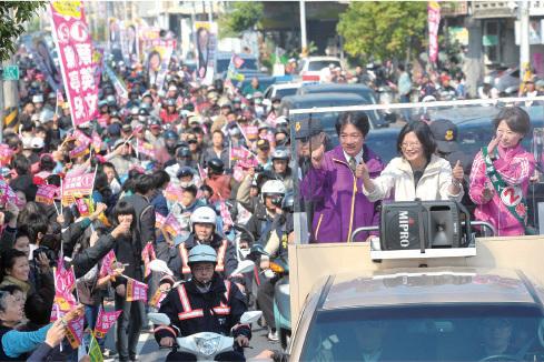 台灣總統大選進入最後一星期倒數,八九學運領袖王丹稱,若民進黨蔡英文獲勝,且贏得立法院過半議席,對中共將是沉重打擊。(中央社)