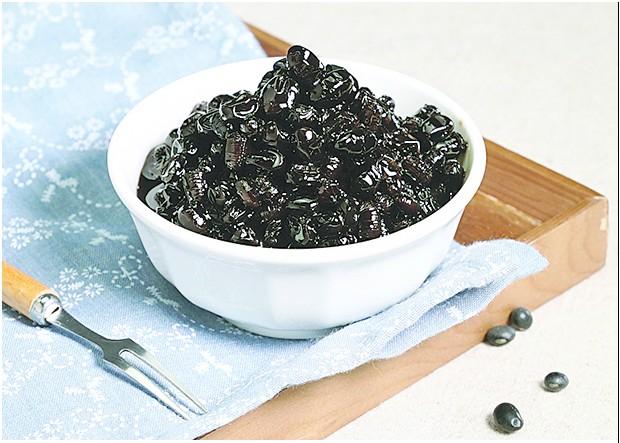 製作簡單的日式蜜黑豆。