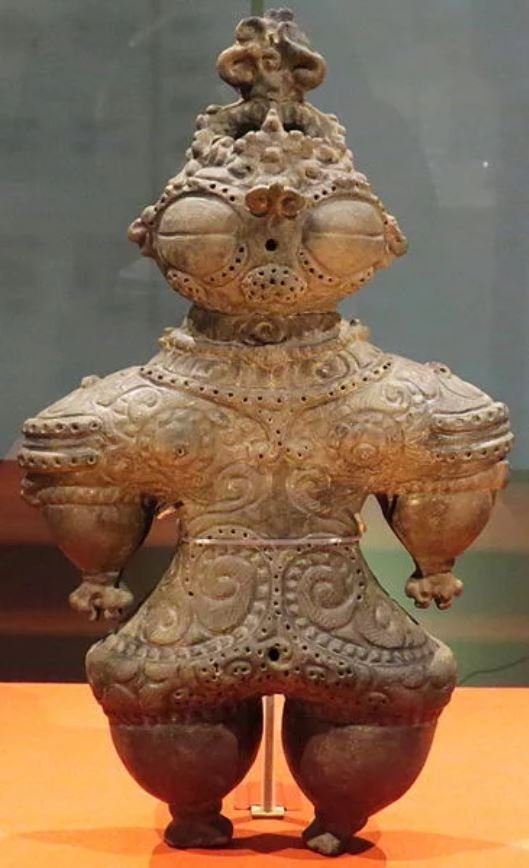 繩紋文化的土偶泥人。((Rc 13/wikimedia commons)