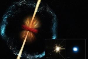 真正千鈞一髮奇景 宇宙最強能量伽瑪射線暴